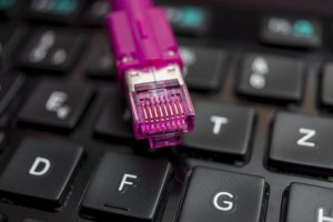 DSL-Anschluss durch Netzwerkkabel