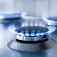 Gasanbieter-Versorgung für Gasherd