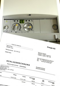 Neue Rechnung durch Gaspreisentwicklung