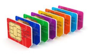 SIM-Karten von Prepaid Tarife