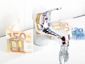 Laufender Wasserhahn kostet Geld